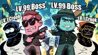 LVL. 100 BOSS - MAFIA CITY (And Other Bad Mobile Games) | SuperMega