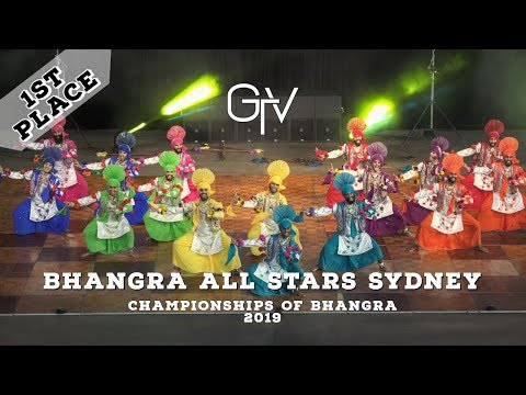 Bhangra All Stars Sydney – First Place – Championships of Bhangra 2019