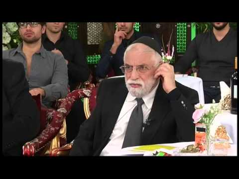 Adnan Oktar's Live Conversation with his Rabbi guests coming from Jerusalem