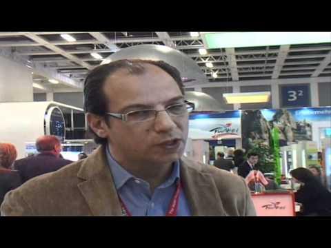 Cumhur Özen, General Manager, Mardan Palace @ ITB Berlin 2012