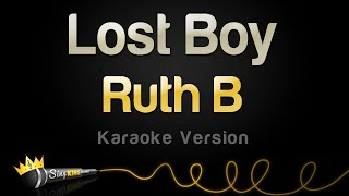 Ruth B  Lost Boy (Karaoke Version)