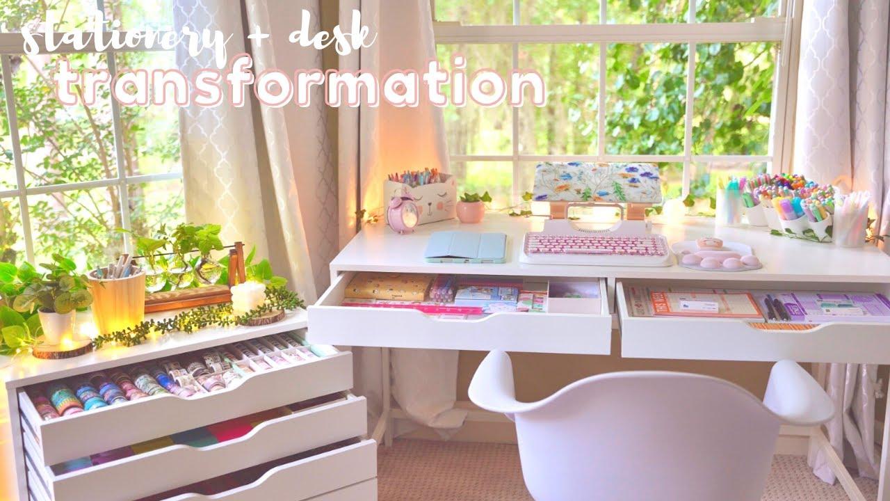 Desk + stationery organization makeover ✨? back to school 2021