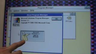 Windows 3.1 Easter eggs