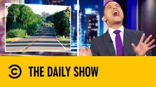 New California Law Allows Drivers To Eat Roadkill | The Daily Show With Trevor Noah