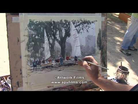 Watercolour Impressions: Joseph Zbukvic