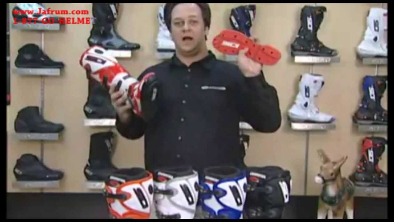 Sidi Crossfire TA Boots Features Overview - Jafrum com