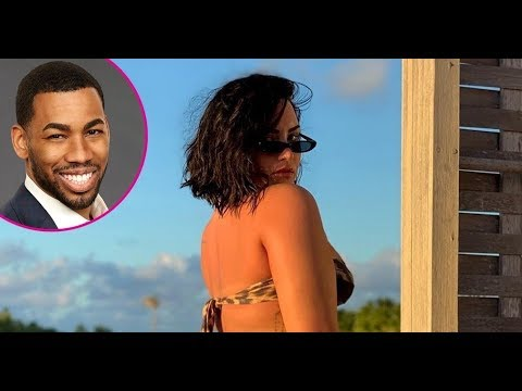 'Bachelorette' star Mike Johnson likes Demi Lovato's latest bikini pics