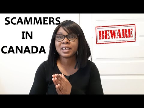 Scammers In Canada