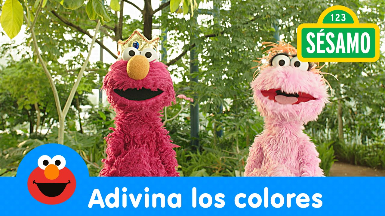 Sésamo: ¡Elmo Juega! - Adivina los colores - YouTube