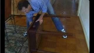 Furniture Repair : Furniture Repair: Removing Table Legs