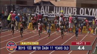 AAU JO 2016 100m Quarters | 11G