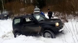 Niva, Pajero, Jimny, UAZ - зима