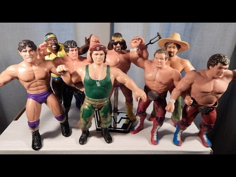 WWF Wrestling Superstars Series 3: Part 2 The Wrestlers LJN Toys 1986