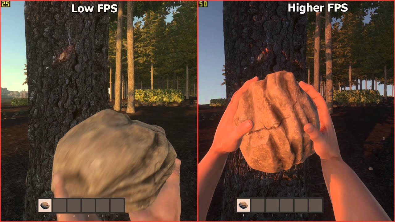 Rust Experimental Frame Rate Affects Hitting Speeds Confirmed
