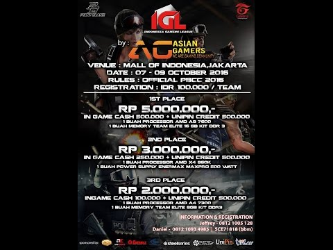 Indonesia Gaming League : Point Blank Tournament Last Day