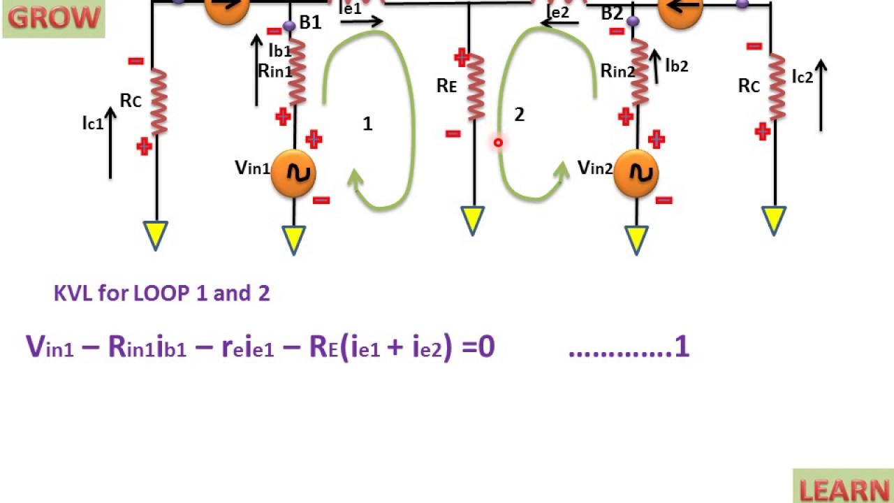 Ac analysis of dual input balance output differential amplifier ac analysis of dual input balance output differential amplifier learn and grow pooptronica