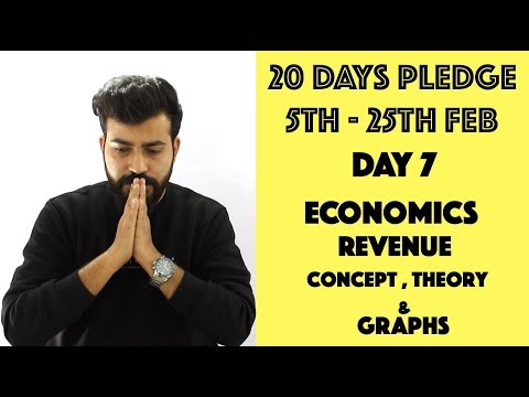 Day- 7 - Revenue - Theory & Graphs - class 12th #20dayspledge #commercebaba