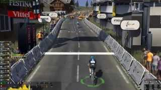 Pro cycling manager 2015 gameplay: Modane Valfréjus - Alpe d