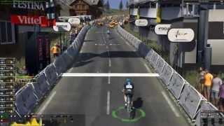 Pro cycling manager 2015 gameplay: Modane Valfréjus - Alpe d