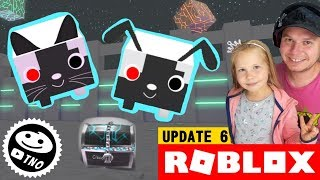 ROBO PET and SECRET CHEST on the WAY-Cyborgs! Pet Simulator! | Roblox | Daddy and Barunka CZ/SK