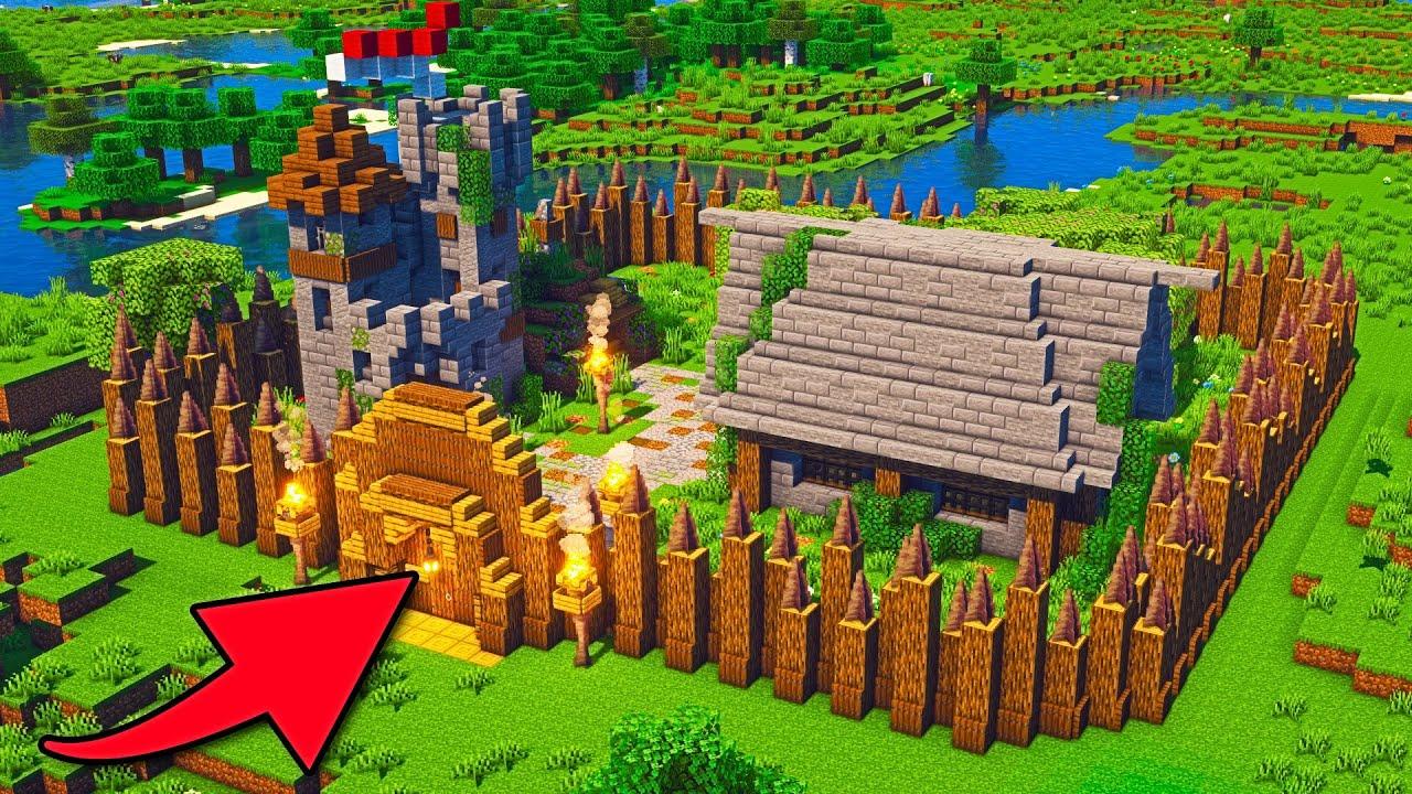 Minecraft Village #Shorts