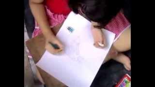 Drawing Competition During Durga Puja Festival Part 6