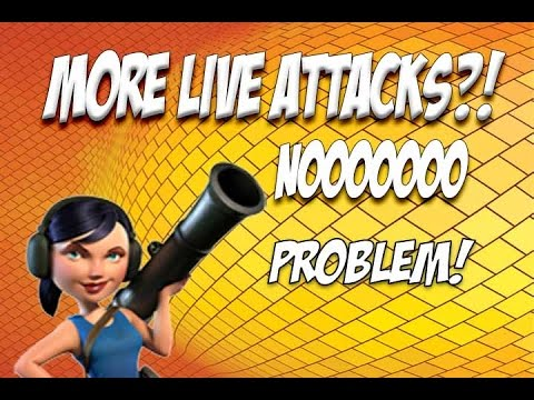 Boom Beach: You want MORE LIVE Attacks!? Sure thing then!