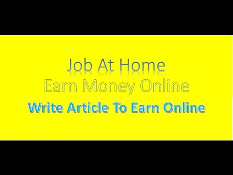 articles online and earn money Are you looking for the ways to earn money onlinedid you try to make money online before but did not get success then no need to worry anymore.