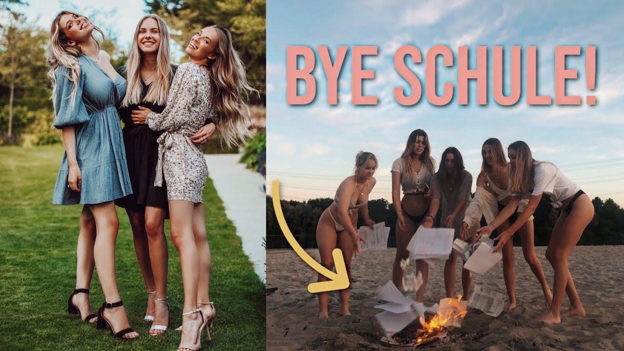 unser ABIBALL, Schulsachen verbrennen ...Vlog //Hannah