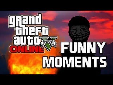 GTA 5 Online Funny Moments - Plane Crash, Suicide, Big Fans, Mid-Air Shooting Range