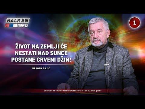 INTERVJU: Dragan Gajić - Život na Zemlji će nestati kada Sunce postane crveni džin! (28.1.2019)