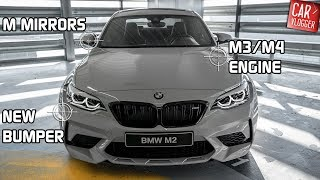 INSIDE the NEW BMW M2 Competition 2018 | Interior Exterior DETAILS w/ REVS