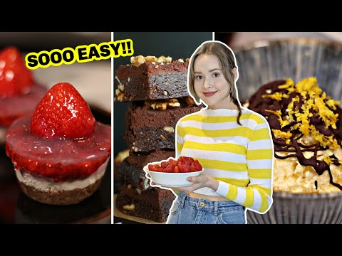 3 Incredible No-Bake Desserts (Vegan & Gluten-Free)