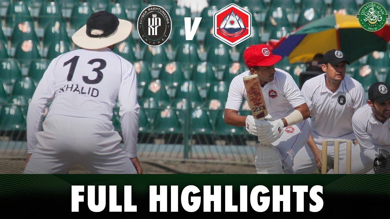 Highlights | Khyber Pakhtunkhwa vs Northern | Day 3 | Quaid e Azam Trophy 2021