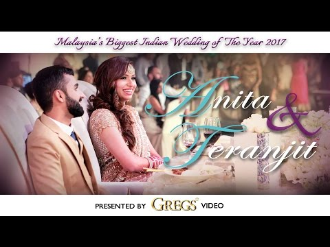 Malaysia's Biggest Hindu Wedding of the Year 2017 // Anita & Teranjit