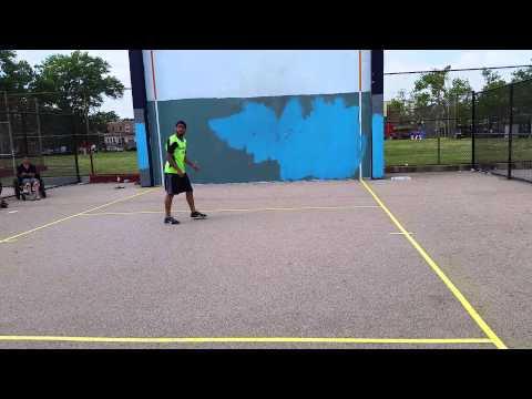 Manny vs Jomar philly handball 2015