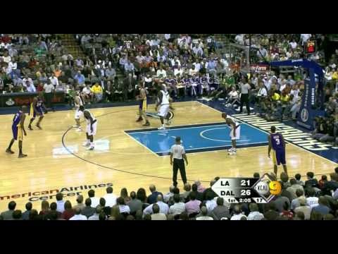 11 11 2008   Lakers vs  Mavericks   1st Half Highlights