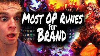 OP Rune Page For Brand/ Ap Mid Lane - Season 8 Runes