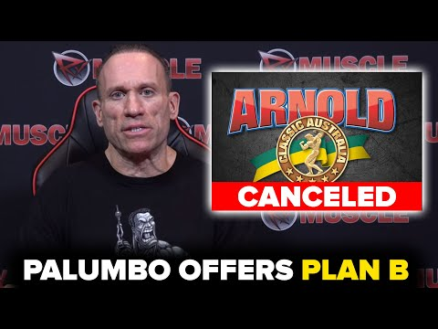 ARNOLD AUSTRALIA CANCELED! Dave's Solution!