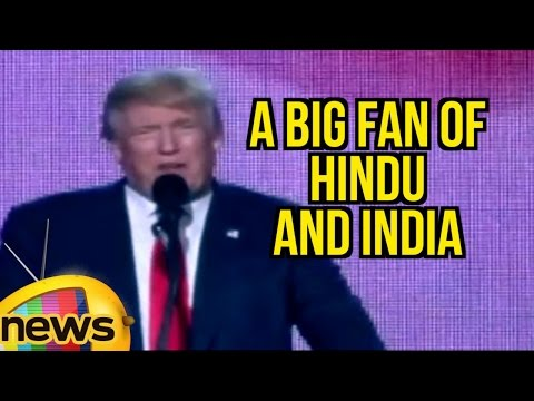 I Am A Big Fan Of Hindu And India | Donald Trump Speech At Hindu Indian American Event In New Jersey