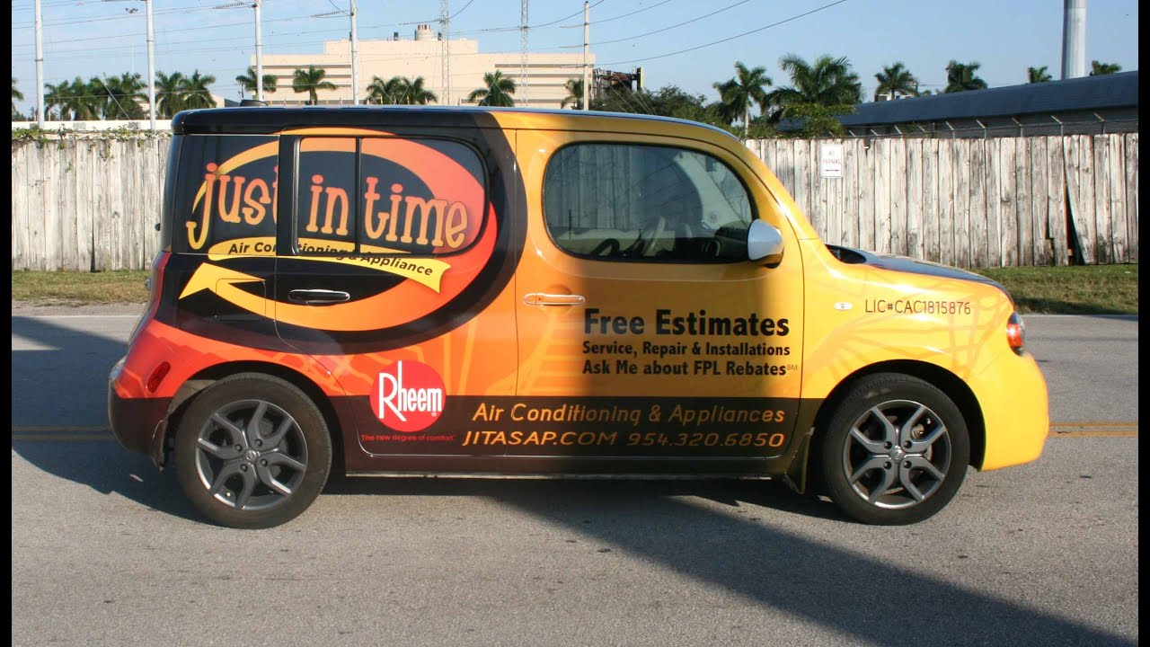 Make S By Car Wring Nissan Cube Wrap Sunrise Florida