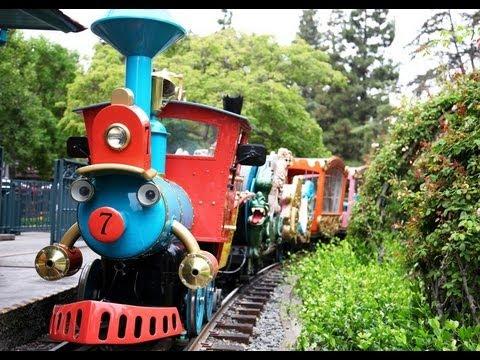 ♥♥ 2017 Casey Jr. Circus Train at Disneyland