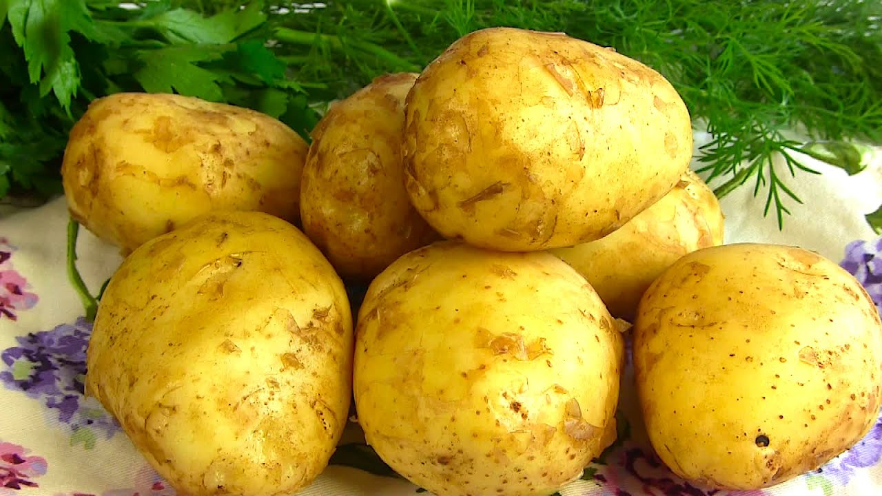 Молодая Картошка! Два Простых Рецепта!