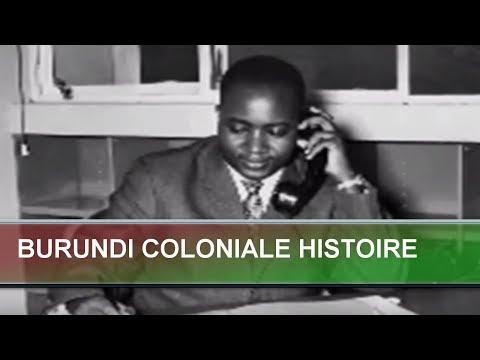 BURUNDI COLONIALE HISTOIRE
