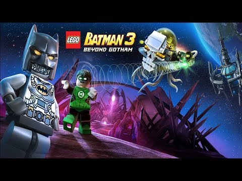 LEGO Batman 3-How to Unlock Composite Superman And Cyborg Superman-Breaking The Ice Free Play