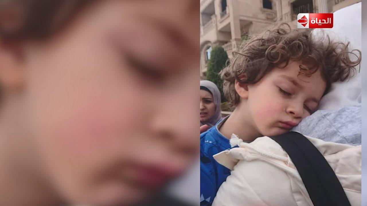 صبايا : ترك ابنه في الحضانه وعثر عليه تحت سياره وكانت المفاجأة