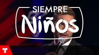 David Bisbal improvisa canción para Don Francisco en Siempre Niños (VIDEO)