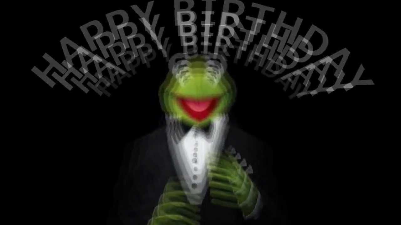 Happy Birthday, Kermit Style!