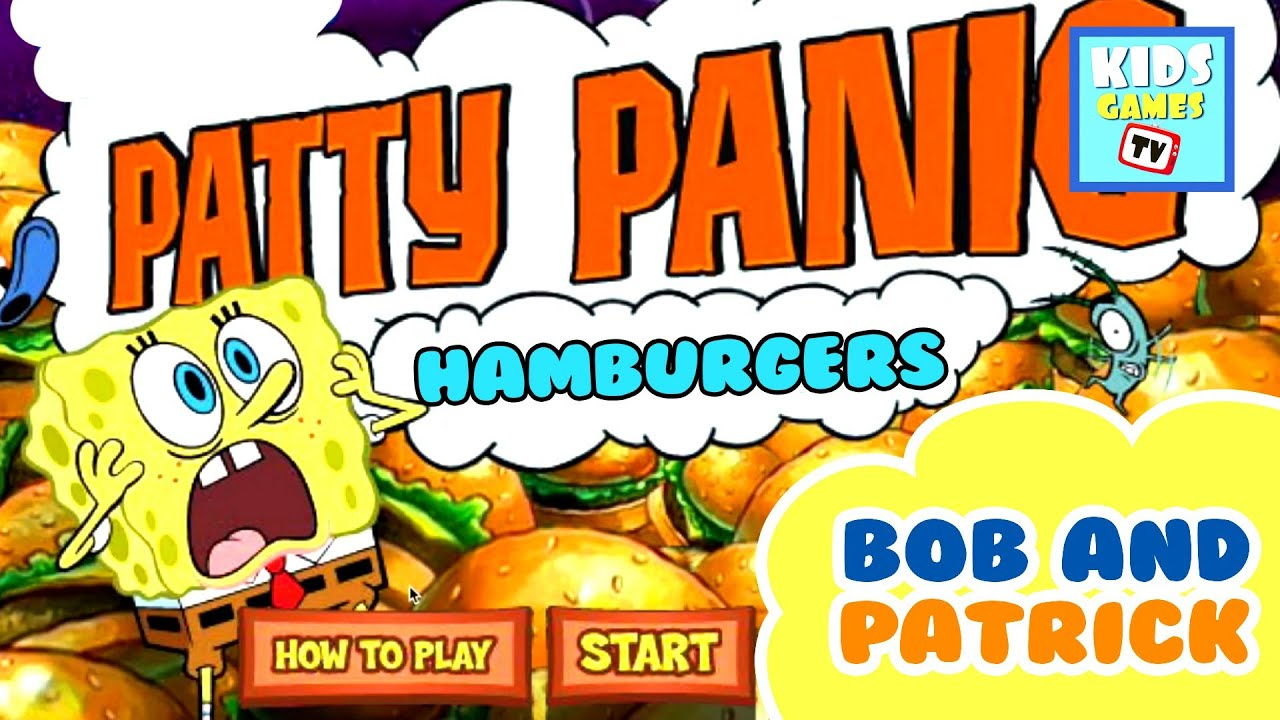 spongebob games patty panic