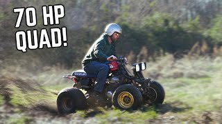 Honda 750cc 4 Wheeler Has FULL POWER! The Fix was So SIMPLE!!